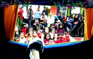storytelling - clowns for birthday parties in london