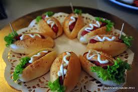kids party food ideas hotdogs