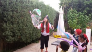 Bubble party in London