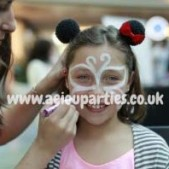 Face Painters Hire for Birthdays Parties
