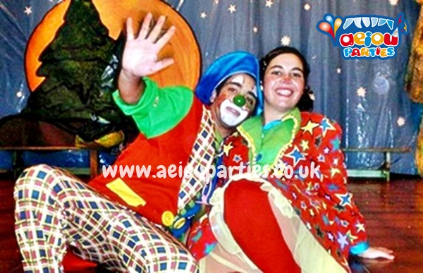best clown shows for kids East London